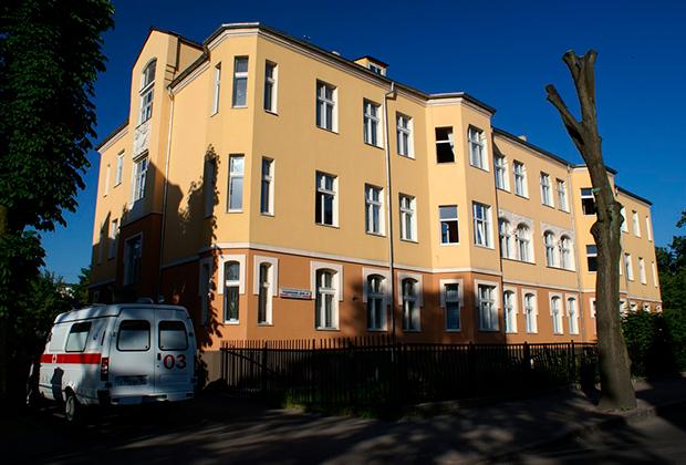 Роддом №4 в Калининграде