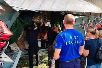 В Подмосковье собрали гуманитарную помощь для жителей Иркутской области