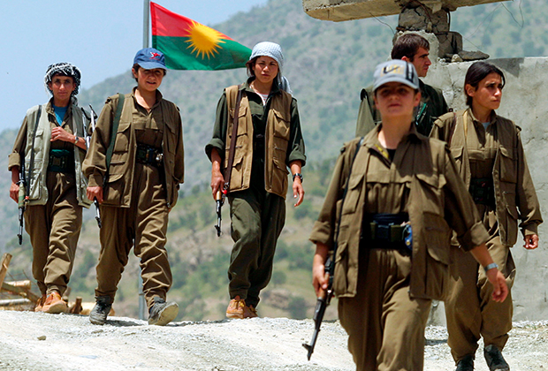 Боевики РПК в Ираке