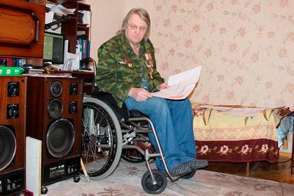 Россияне пожалели 16 рублей на подъемник для ветерана в инвалидной коляске