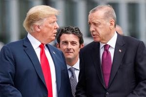 Дональд Трамп и Реджеп Тайип Эрдоган