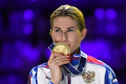 Российская фехтовальщица в пятый раз выиграла чемпионат мира