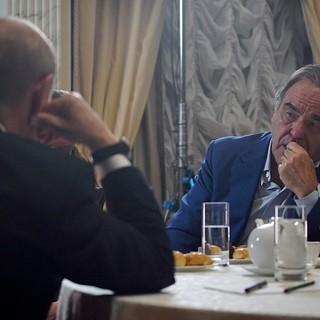 Оливер Стоун берет интервью у Владимира Путина