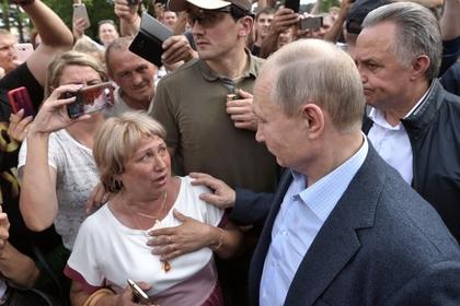 Визит Путина в затопленный Тулун скрыли от местных жителей