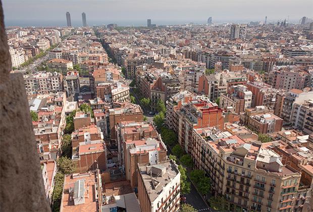 Вид Барселоны
