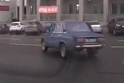 Пьяный россиянин на «шестерке» устроил гонку с полицейскими