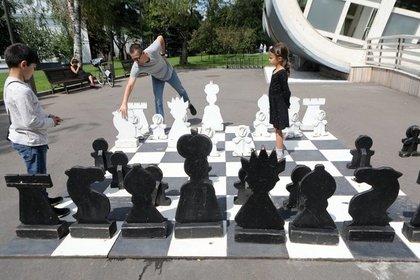 День шахмат в Москве посетили 60 тысяч человек