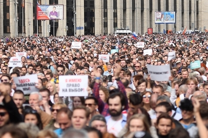 В Мосгоризбиркоме назвали требование Навального шантажом