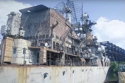 Зеленский продемонстрировал на видео ржавую «Украину»