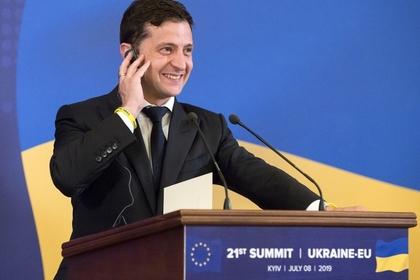 Зеленский оценил первые результаты выборов в Верховную Раду