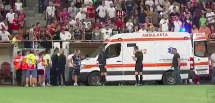 Издевки фанатов довели футбольного тренера до сердечного приступа