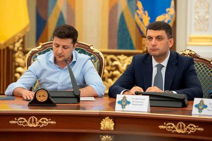 Владимир Зеленский и Владимир Гройсман