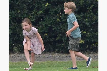 Кейт Миддлтон обула сына в дешевые кеды