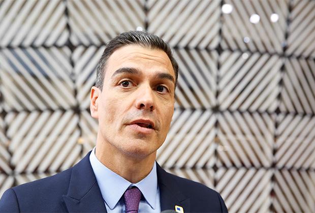 Премьер-министр Испании Педро Санчес