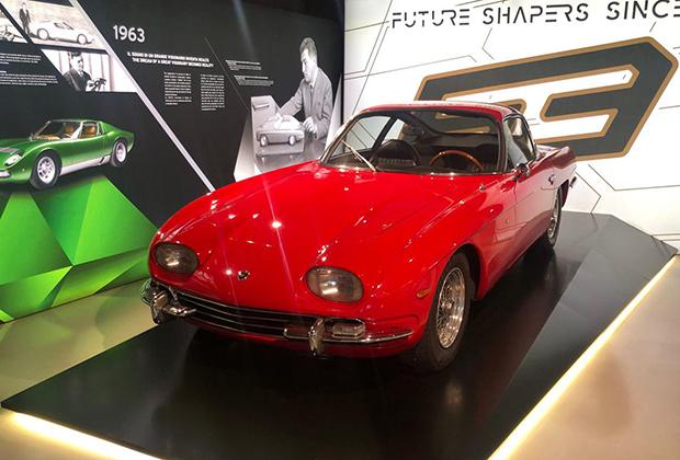 Машина, которой всегда есть место в экспозиции: 350GT, первая Lamborghini в истории марки.