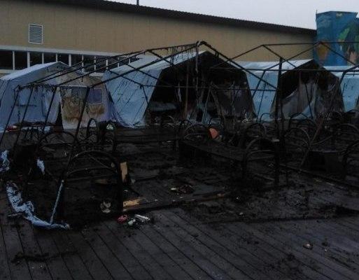 Стало известно о тяжелом состоянии пострадавших при пожаре в лагере детей