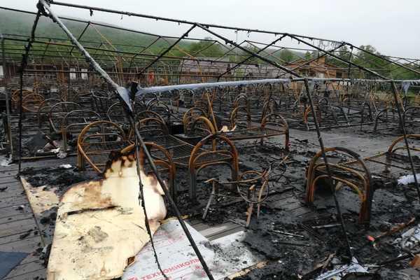 Жертва пожара в детском лагере погибла накануне дня рождения