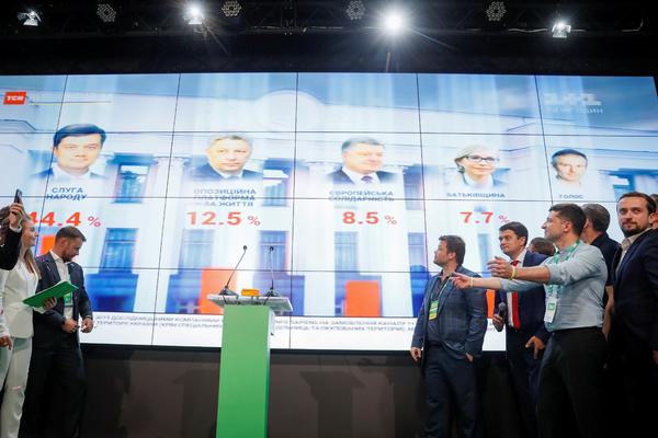 Партия Зеленского сохранила однопартийное большинство в Верховной Раде