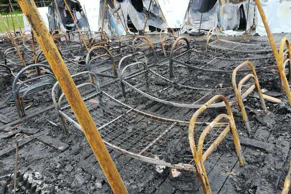 В сгоревшем палаточном детском лагере нашли многочисленные нарушения