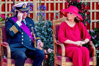 Принц Бельгии Лоран и Клэр Бельгийская