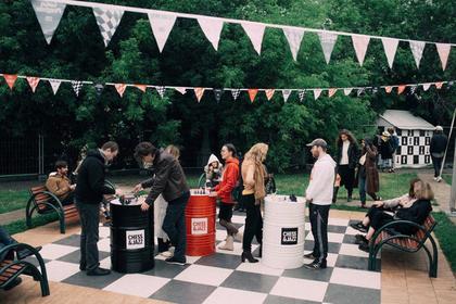 В саду «Эрмитаж» пройдет фестиваль шахмат и джаза