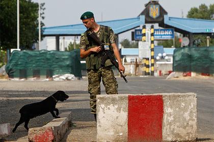 Украинские пограничники пожаловались на русский зеленый луч