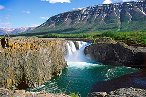 Водопад реки kutamarakan