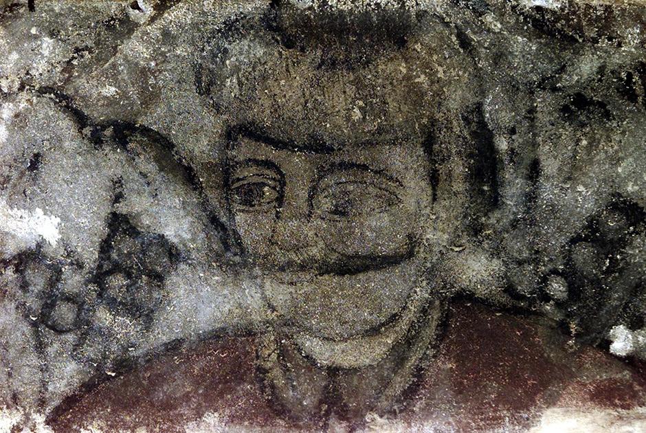 Ð¡ÑаÑое гÑаÑÑиÑи Ñ Ð¸Ð·Ð¾Ð±Ñажением ЦепеÑа, даÑиÑованное XV веком, найдено в гоÑоде СегиÑоаÑа в 2001 годÑ