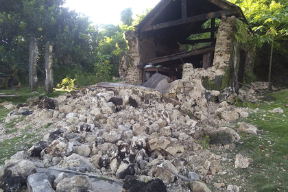 На Филиппинах произошли сразу два землетрясения