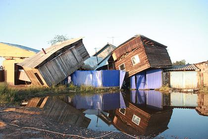 Иркутский Тулун снова затопило