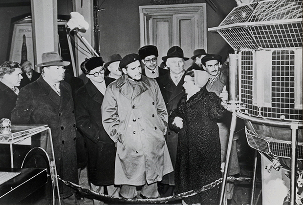 Че Гевара в павильоне «Наука», 1960 год