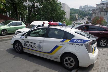 Пьяный украинский прокурор прятался от полиции в кустах