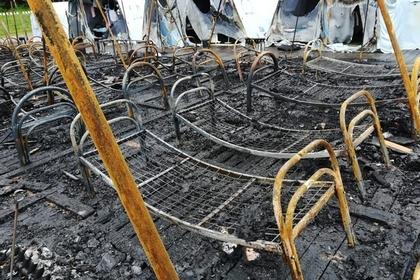 Сотрудники сгоревшего детского палаточного лагеря пожаловались на травлю