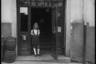 Портрет девочки. Франция, 1945 год.