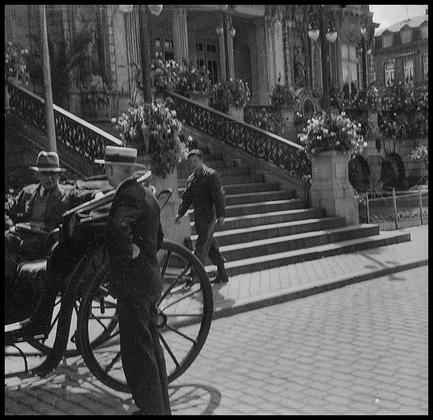 Брюссель. Бельгия, 1945 год.
