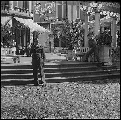 Портрет американского солдата. Париж, Франция, 1945 год.
