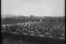 Вид на кладбище из проезжающего армейского грузовика. Франция, 1945 год.