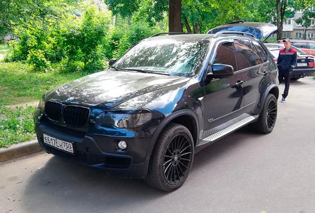 Автомобиль Шико Шамоева