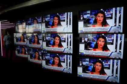 В России оценили потенциальный успех украинского русскоязычного телеканала