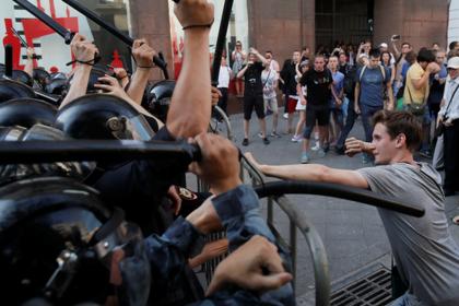 Полиция Москвы пообещала оперативно реагировать на провокации на акции 3 августа