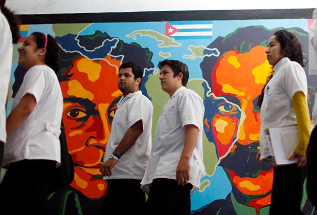 Студенты-медики в Гаване