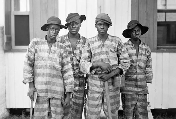 Заключенные-работники, начало XX века