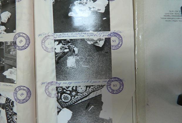 Фототаблица осмотра места преступления, совершенного Олегом Рыльковым