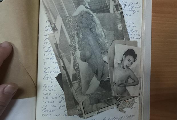 Изъятые у Олега Рылькова вырезки из эротических журналов тоже стали вещественными доказательствами
