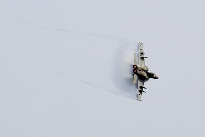 Американский истребитель разбился возле Долины Смерти