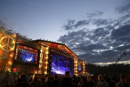 Главная сцена фестиваля «Вудсток» в 2015 году