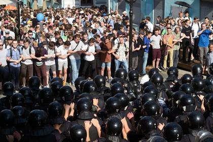 Пять человек задержаны по делу о массовых беспорядках в Москве