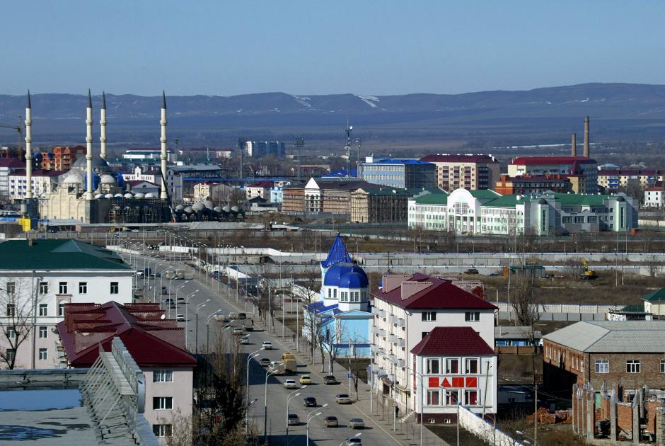 Панорама Грозного