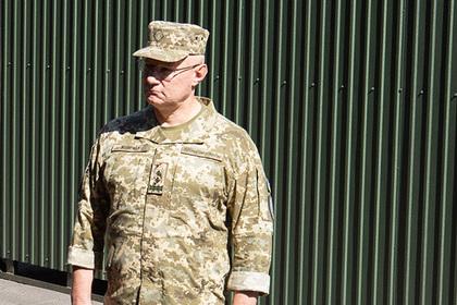 Глава армии Украины отказался считать обстрелы в Донбассе срывом перемирия