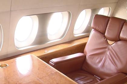 Самолет украинских президентов показали изнутри